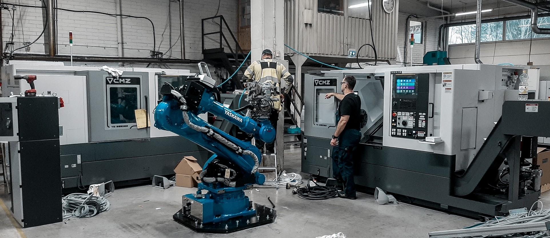 Robotiikalla kilpailuetua